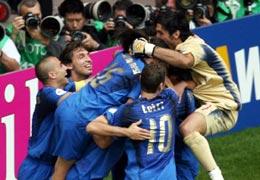 ITALIA SE CLASIFICA IN EXTREMIS PARA CUARTOS DE FINAL