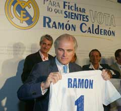 RAMON CALDERÓN YA ES PRESIDENTE